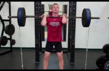 Front Squat with Bands