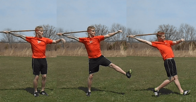 beginner javelin drills