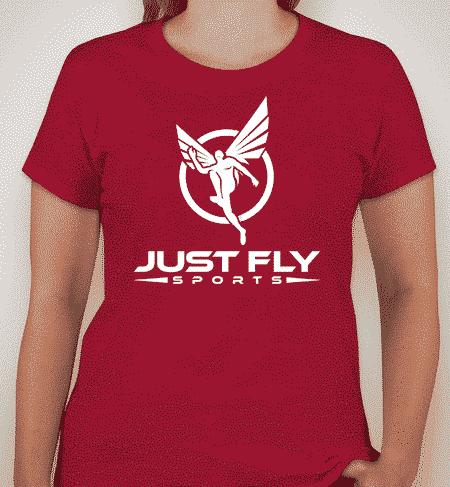 Cherry Red Ladies Shirt