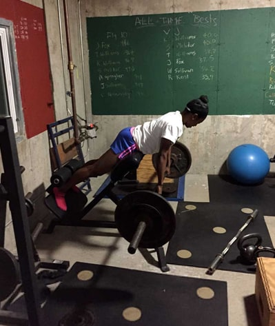 Glute-ham raise and 45 degree back extension