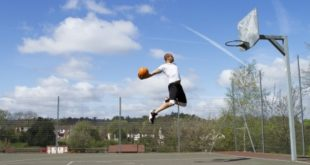 Dunk from Free Throw Line