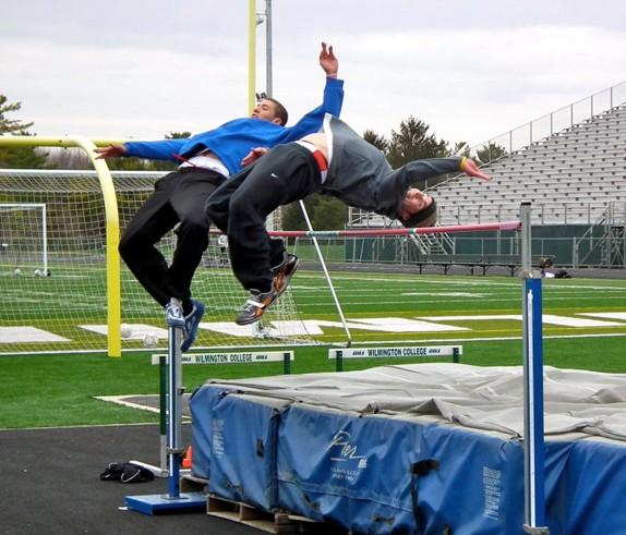 Tandem High Jump