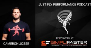 Just Fly Performance Podcast Episode 35: Cameron Josse