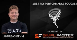 Just Fly Performance Podcast Episode #49: Andreas Behm