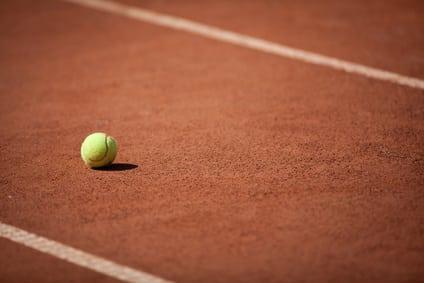 Tennis ball acceleration drill