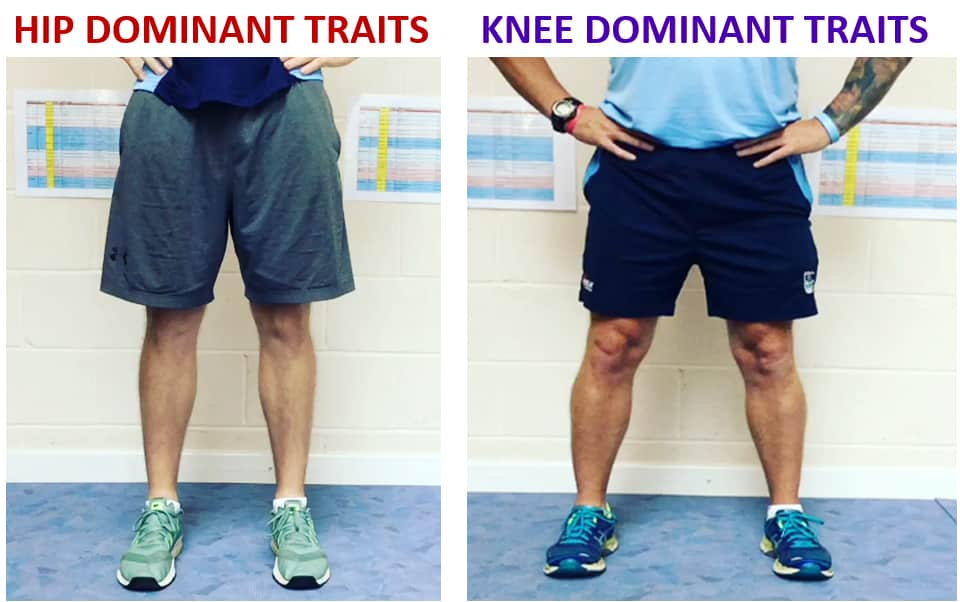 Hip and Knee Dominant Traits