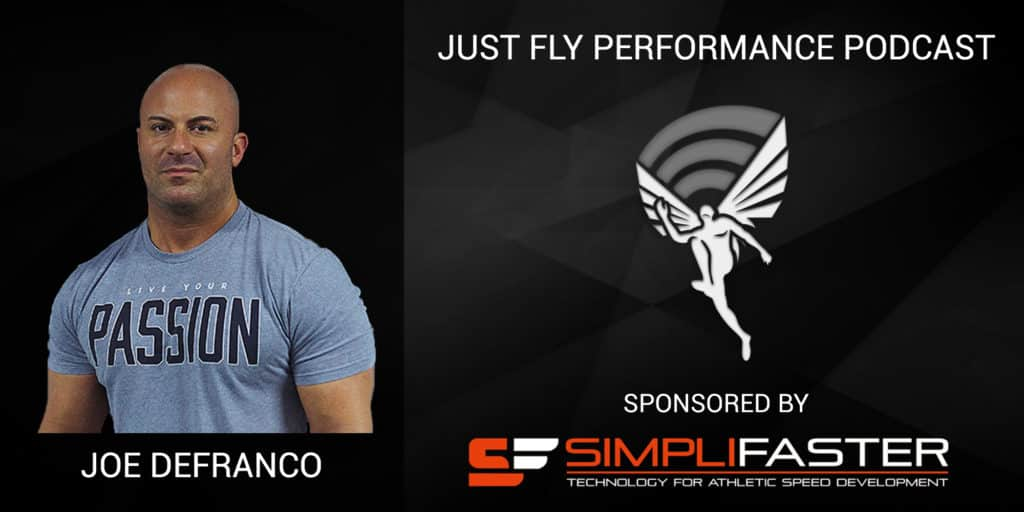 """""""The Answers Lie in the Gym"""": Just Fly Performance Podcast Episode 72 Joe DeFranco"""