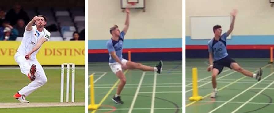 Knee dominant bowlers block