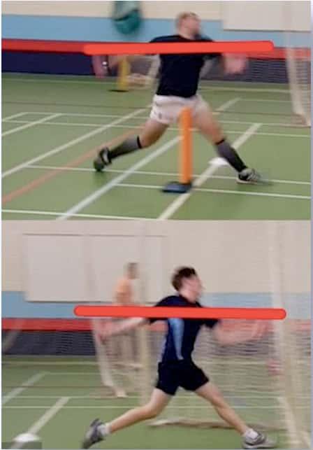 Throwing sling motion